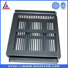 6063 extrudez la clôture en aluminium utilisée pour électrique