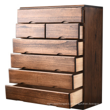 Novos Armários De Armazenamento De Madeira Sólida Chinês Casa Multipurpose sala de estar móveis de madeira Armário de madeira maciça personalizado gaveta ca