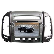 Заводские автомобильный GPS для Hyundai Санта-Фе с GPS/Bluetooth/Рейдио/swc/фактически 6 КД/3G интернет/квадроциклов/ставку/видеорегистратор