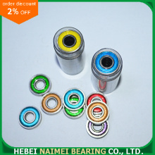 Berwarna 608ZZ Deep Groove Ball Bearing