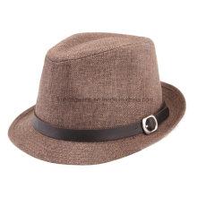 Sombrero de paja modificado para requisitos particulares de los hombres de la manera, verano se divierte la gorra de béisbol