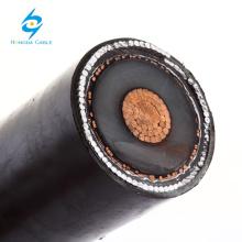 Conductor de cable de cobre MV 185mm2 Cable de armadura de conductor único