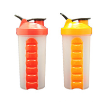 Patent New Design Shaker Bottle with Pill Box