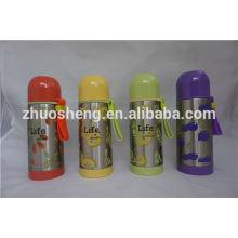 используемые Термо Кинг подразделений продажи гроулер стекла бутылка силиконовый рукав Стальной термос термосы для горячей пищи