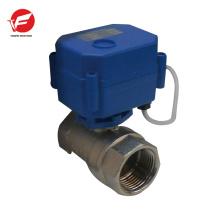 CWX-15q agua de bola motorizada con temporizador válvula de control direccional