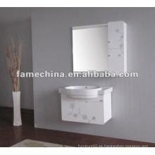 2013 nuevos muebles blancos del cuarto de baño del PVC del alto brillo