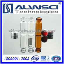 China Manufacturing 2ml klare Etikett Glas Crimp Top Vial Borosilikatglas