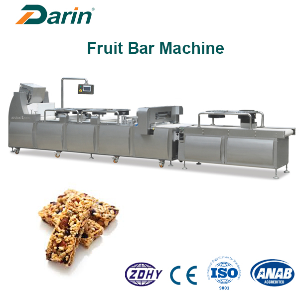 Otomatis Muesli Bar / Puffed Snacks Candy Bar Cutting Machine