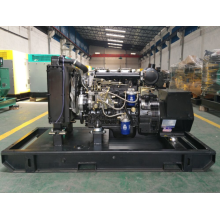 Small air-cooled open type diesel genset