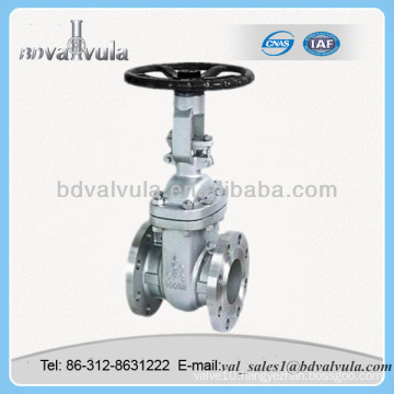 ANSI A105 Stem Gate Valve for oil and gas industry
