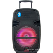 Rechargeable Karaoke Innovative Bluetooth Big Stage Speakers with LED Light F23