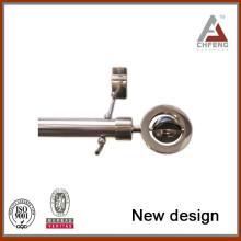 Nuevas tapas de extremo de la barra de la cortina de la decoración de la calidad del metal del diseño nuevo