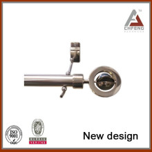 New design Metal perfect quality Decoration curtain rod end caps