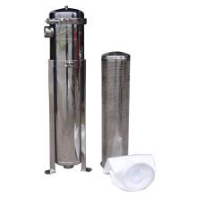 Filtro de bolsa pequeña con calcetín de filtro simple PP / PE