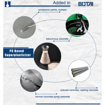 aditivo de hormigón Superplastificante de policarboxilato