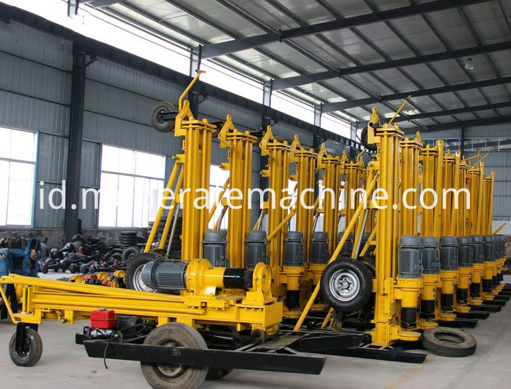 KQZ180D water well drilling rig 4-1