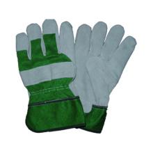 Kuh Split Arbeitshandschuh, Sicherheit Leder Handschuh, CE Handschuh
