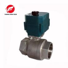 dn20 dn32 dn50 ss304 CTF-001 10nm 12v vanne d'eau électrique