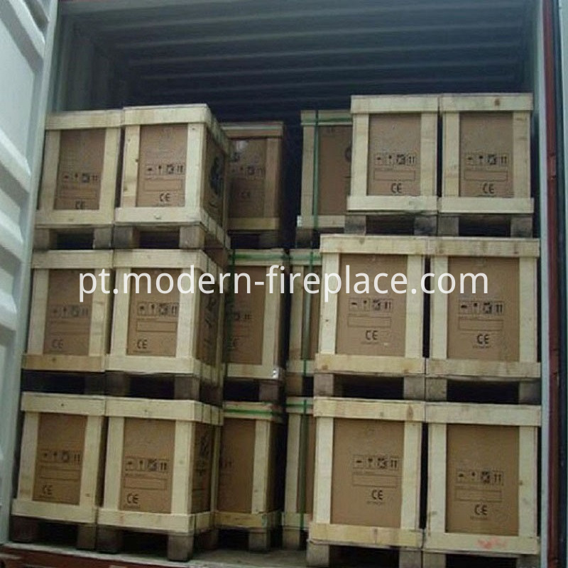 Kitchen Wood Burning Stoves Factory Packaging