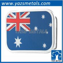 personalize fivelas de cinto de bandeira, fivela de cinto de bandeira australiana sob medida