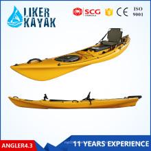 Fischerboot Roto Form Einzelboot Sitzen auf Top Kajak