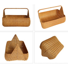 (BC-R1001) Pure Manual Craft Rattan Basket