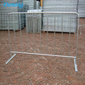 Galvanized Steel Crowd Control Barriers Factory Supply