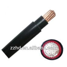 Niederspannungskabel elektrischer pvc gepanzertes / unmarkiertes Kabel cu Kabel 50mm2 120mm2