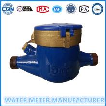 ISO4064 Compteur d'eau multi-mécanique de compteur d'eau froide à cadran sec
