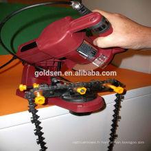 Scie à chaîne électrique à 108 mm Outils à affûter la chaîne Rectifieuses à machine Broyeur à scie à chaîne 85w