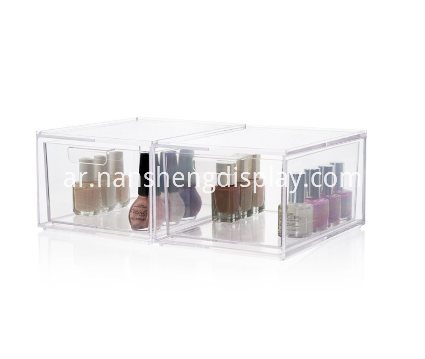 Stackable Cosmetic Storage Organizer Drawers