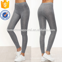 Grey Skinny Casual Leggings OEM/ODM Manufacture Wholesale Fashion Women Apparel (TA7030L)