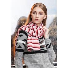Moderne Fabrik benutzerdefinierte Lady gewebt Schal