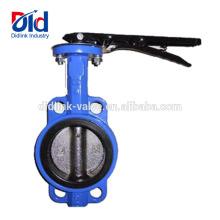 Tipo de válvula de mariposa de hierro fundido ranurado criogénico tipo Lug 10 pulgada Italia 10 Lug fabricante