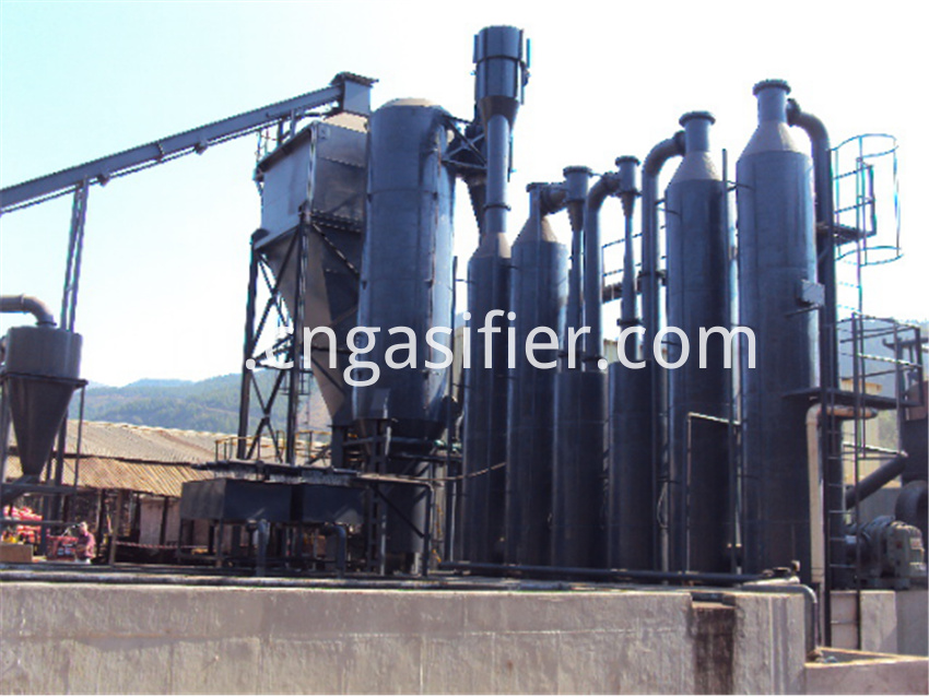 woodchips biomass gasification