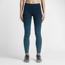 Женщины полиэстер спандекс цвет удобные уникальные брюки для йоги