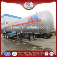 2015 Grandes volúmenes LPG 3 eje semirremolque cisterna de combustible baratos