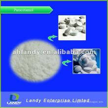 Paracetamol fino polvo blanco