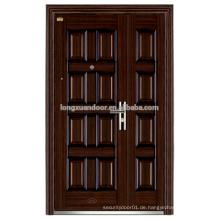 Bügeleisen Haupteingangstüren Schmiedeeisen vorne doppelte Eingangstüren