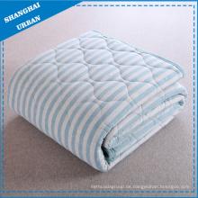 Cotton Bedding Quilt Streifen Decke
