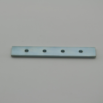 Cheapest Factory for China Rectangular Magnets,Neodymium Rectangular Magnets Manufacturer Rare earth neodymium block magnet with holes supply to Botswana Exporter