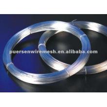 Alambre de hierro galvanizado de bajo precio de alta calidad