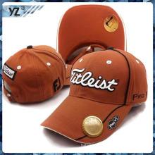 Multifuncional tapa de apertura de botella de cerveza de oro de alta calidad de algodón 100% personalización sombrero profesional