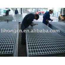 steel open floor panel