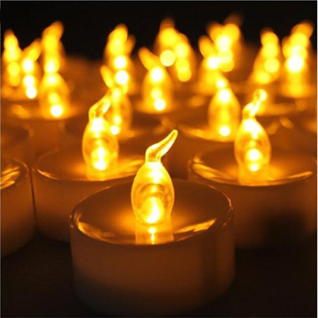 Smokeless battery operated electric tealight candles