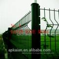 Clôture en treillis en PVC galvanisé à chaud