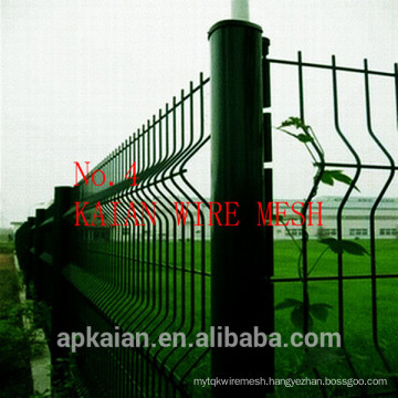 hot dip galvanized PVC coated wire mesh fence