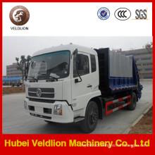 Dongfeng Tianjin 10 Cbm Compactor Garbage Truck