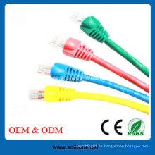 Cat5e / CAT6 / Cat7 Cable de conexión de red RJ45