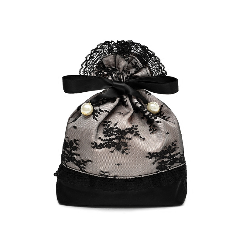 Lace Satin Bag